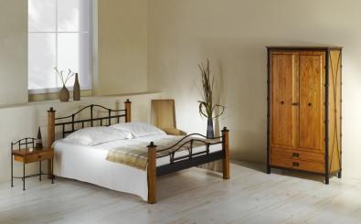 Postel a noční stolek Alcatraz