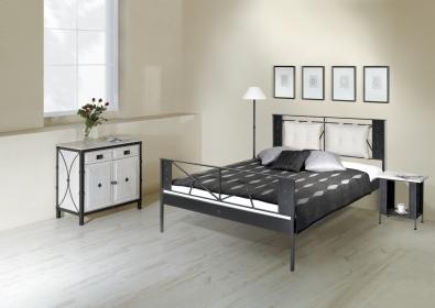 Kovová postel Valencia
