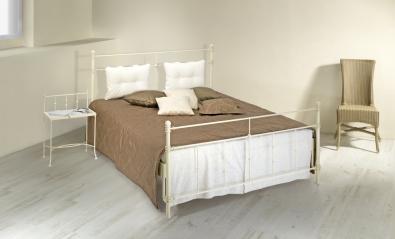 Kovaná posteľ AMALFI s vankúšmi
