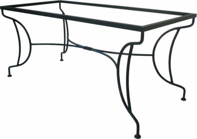 Kovový jedálenský stôl Bologna