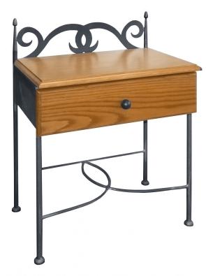 Noční stolek Granada se dřevem