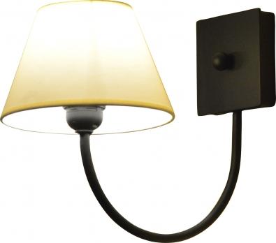 Nástenná lampa s tienidlom