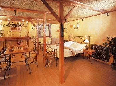 Kovaná posteľ Tholen