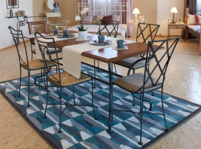 Jedálenský stôl Provence, stoličky Bologna a Jamaica