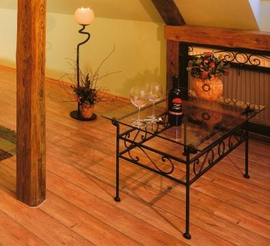 Konferečný stolík  Romantik čierny