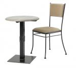 Jednonohý stolík CARCASSONNE
