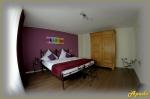 Kované postele, hotel Apado, Homburg