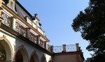 Kované zábradlie, rehabiliační ústav Brandýs nad Orlicí