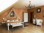Kovová postel Toscana