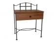 Nočný stolík ALCATRAZ so zásuvkou