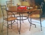 Stôl PROVENCE kruh