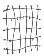 Vešiakova mreža SIENNA variabilná